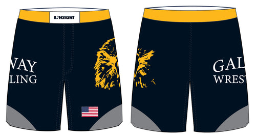 Galway Wrestling Sublimated Fight Shorts - 5KounT2018