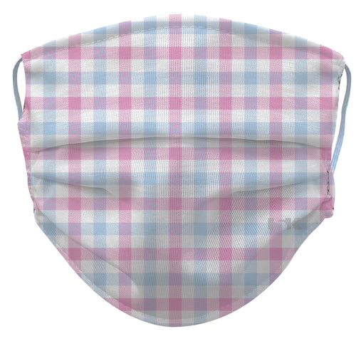Gingham Reusable Face Mask