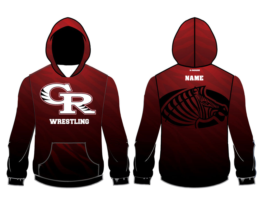Glen Ridge Youth Wrestling Sublimated Hoodie