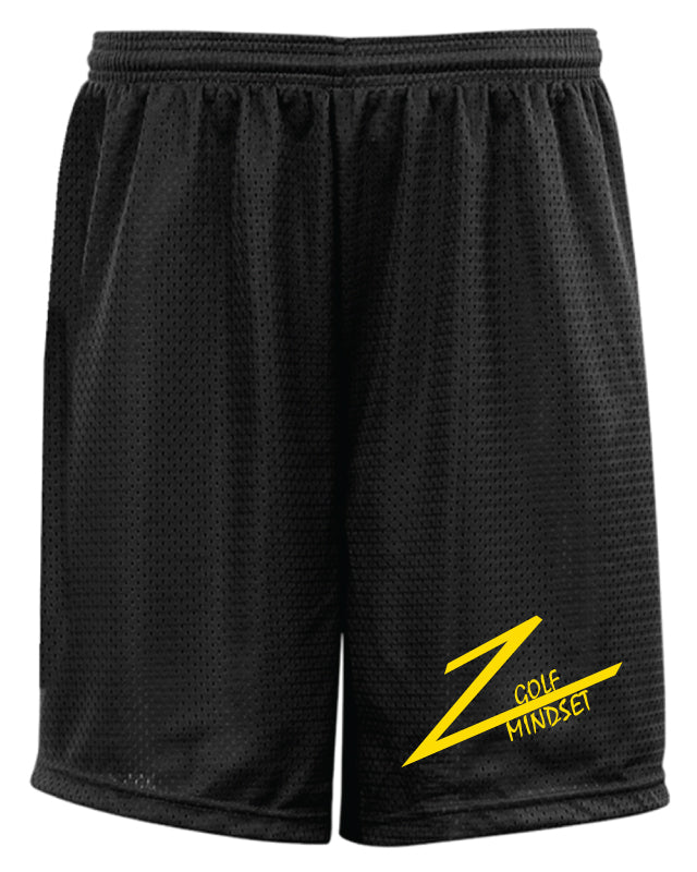 Golf Mindset Tech Shorts - Black