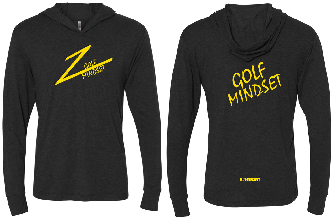 Golf Mindset Triblend Hooded Tee