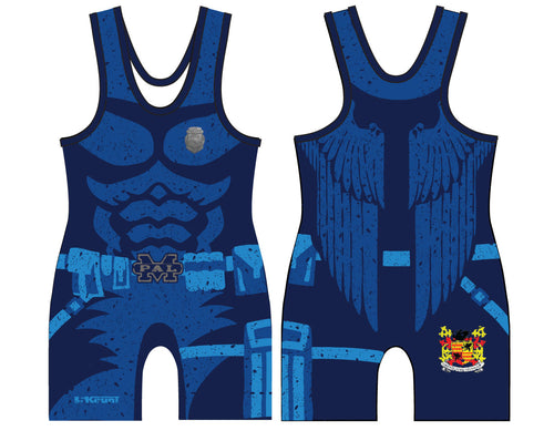 Gryphons Wrestling Sublimated Singlet