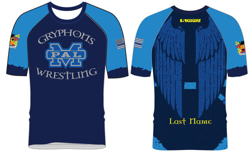 Gryphons Wrestling Sublimated Fight Shirt