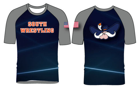 South Wrestling Sublimated Fight Shirt - 5KounT