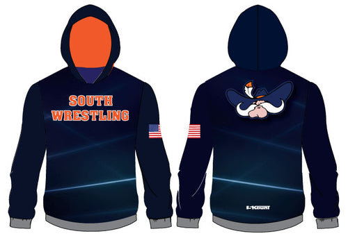 South Wrestling Sublimated Hoodie - 5KounT
