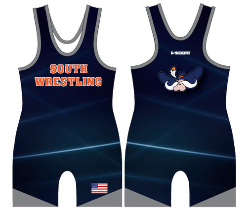 South Wrestling Sublimated Singlet - 5KounT