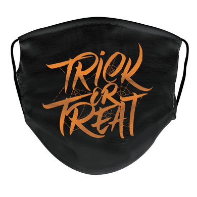 Halloween Reusable Face Mask - Trick or Treat - 5KounT2018