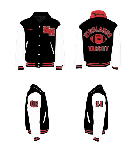 Northern Highlands Highlanders Varsity Jacket - 5KounT2018