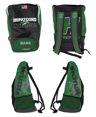 Hopatcong Wrestling Sublimated Backpack