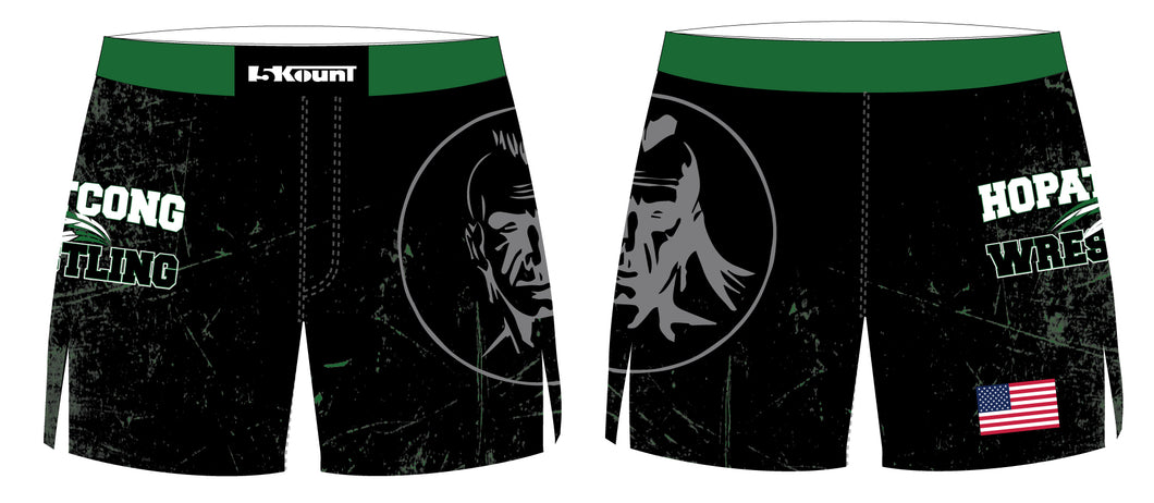 Hopatcong Wrestling Sublimated Board Shorts - 5KounT