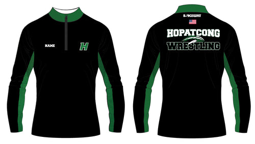 Hopatcong Wrestling Sublimated Quarter Zip