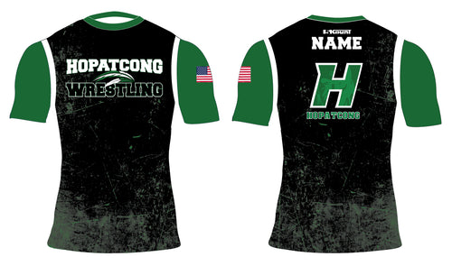 Hopatcong Wrestling Sublimated Compression Shirt