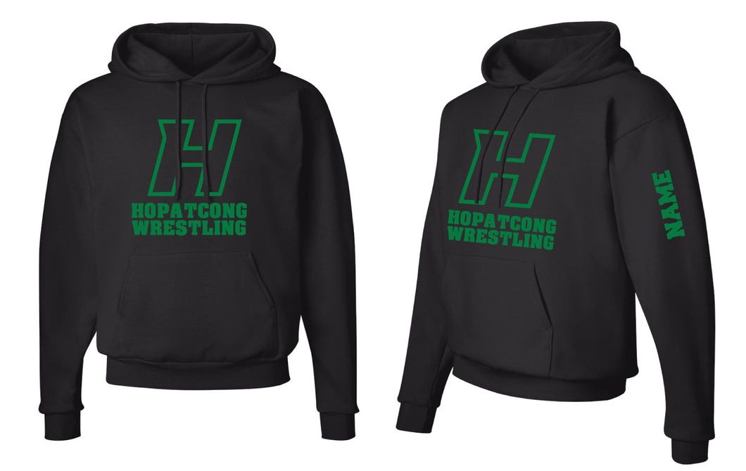 Hopatcong Wrestling Cotton Hoodie