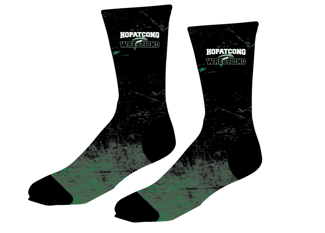 Hopatcong Wrestling Sublimated Socks