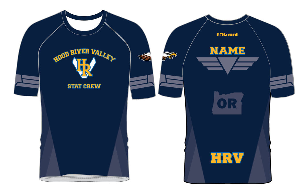 HRV Stat Crew Sublimated Fight Shirt - 5KounT2018