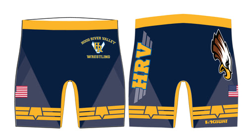 HRVHS Sublimated Compression Shorts