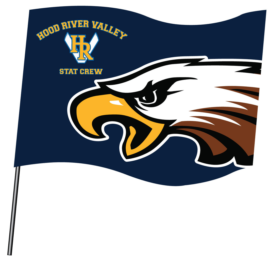 HRV Stat Crew Sublimated Flag