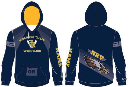 HRVHS Sublimated Hoodie - 5KounT2018