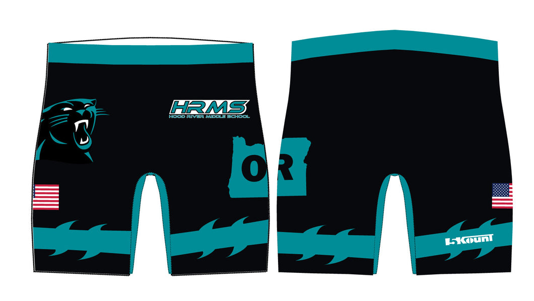 HRMS Sublimated Compression Shorts - 5KounT2018