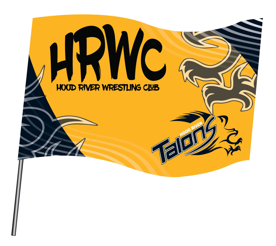 HRWC Sublimated Flag - 5KounT