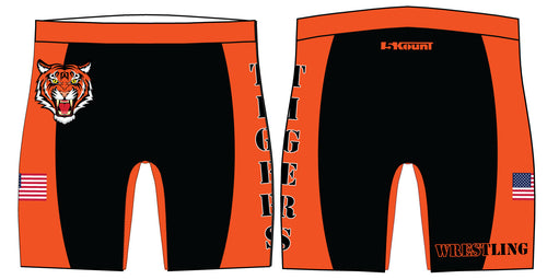 Hackettstown Tigers Sublimated Compression Shorts