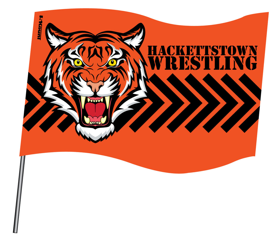 Hackettstown Tigers Sublimated Flag - 5KounT2018