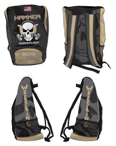 Hammer wrestling Sublimated Backpack - 5KounT2018