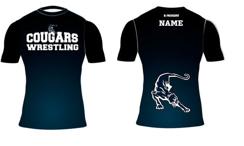 Hampton Wrestling Sublimated Compression Shirt