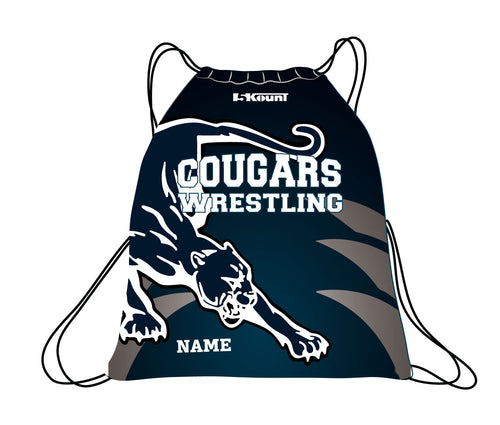 Hampton Wrestling Sublimated Drawstring Bag