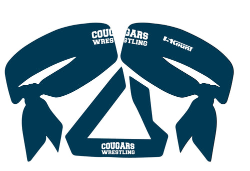 Hampton Wrestling Sublimated Headband