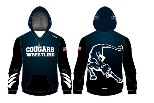 Hampton Wrestling Sublimated Hoodie