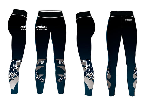 Hampton Wrestling Sublimated Ladies Legging