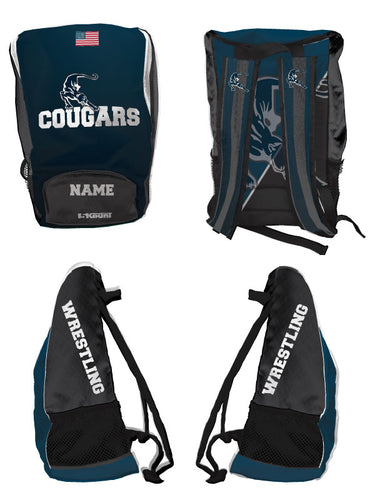 Hampton Wrestling Sublimated Backpack