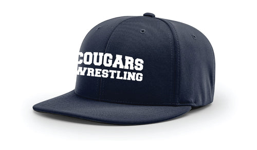 Hampton Wrestling FlexFit Cap - Navy