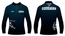Hampton Wrestling Sublimated Quarter Zip