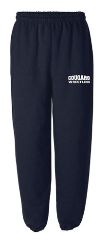 Hampton Wrestling Cotton Sweatpants - Navy