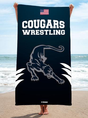 Hampton Wrestling Beach Towel