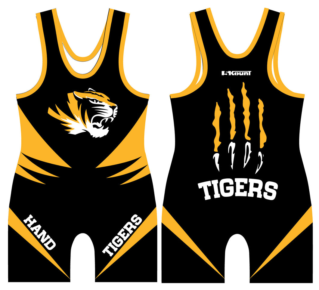 Hand Wrestling Sublimated Singlet - 5KounT2018