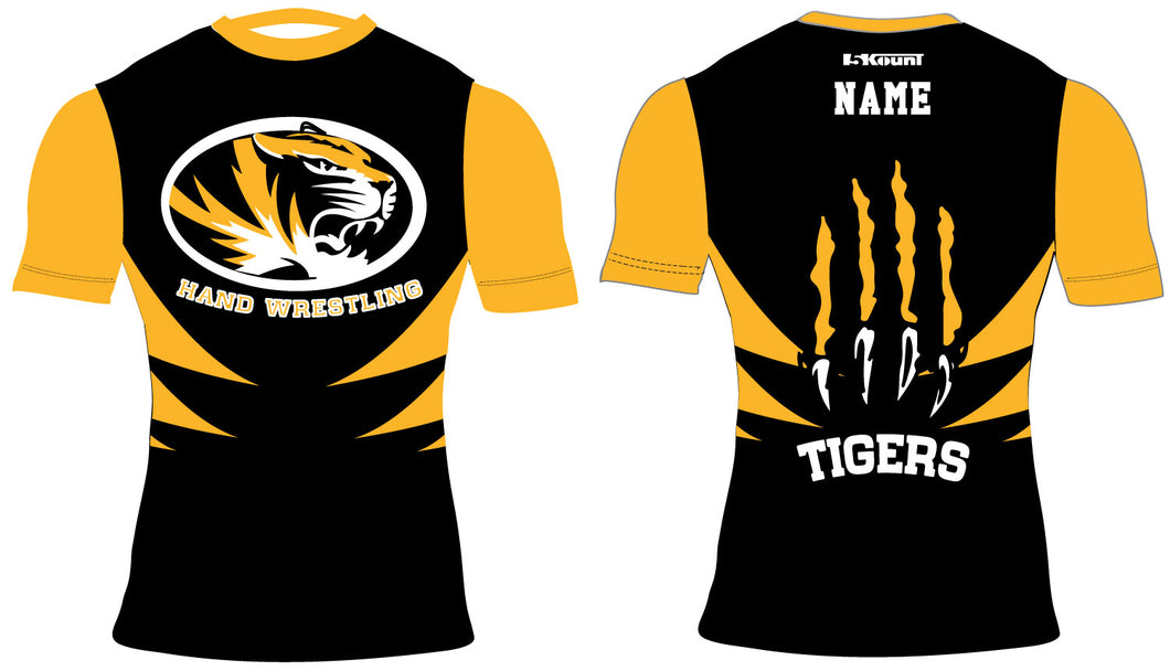 Hand Wrestling Sublimated Compression Shirt