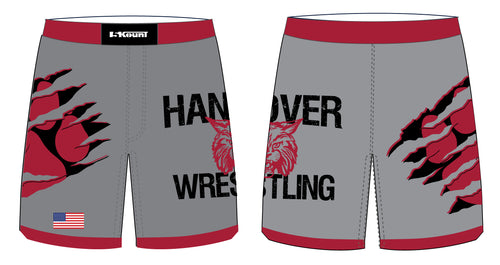 Hanover Township Wrestling Sublimated Fight Shorts - 5KounT2018