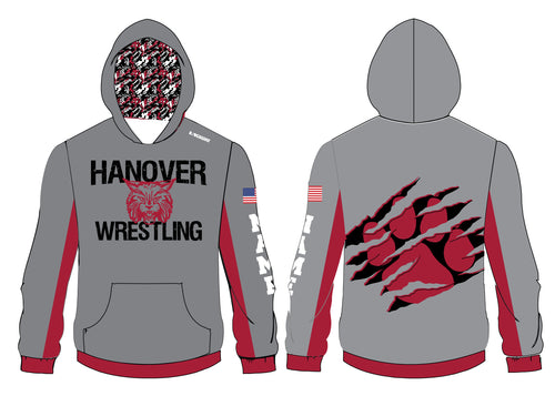 Hanover Township Wrestling Sublimated Hoodie - 5KounT2018
