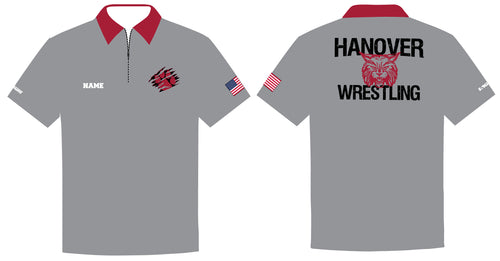 Hanover Township Wrestling Sublimated Polo - 5KounT2018