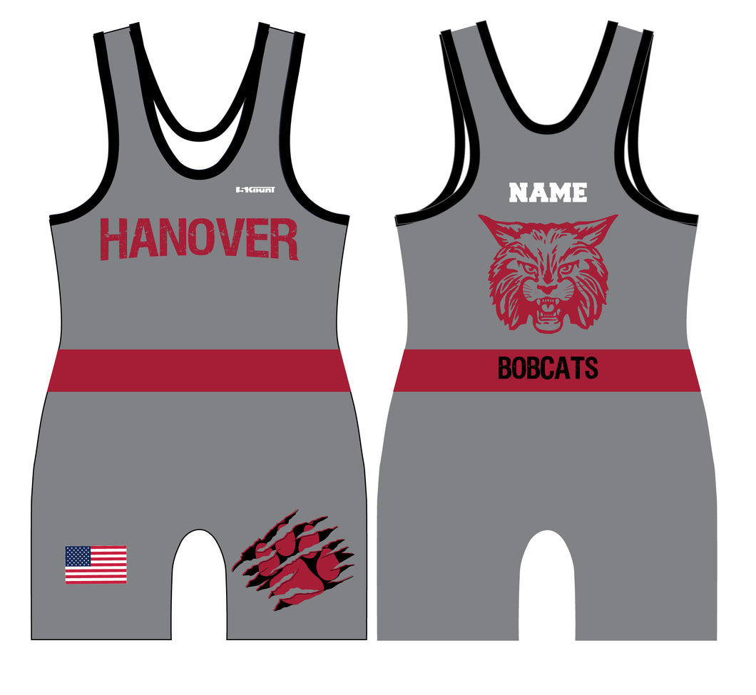 Hanover Township Wrestling Sublimated Men's Singlet