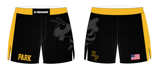 Hanover Park Youth Wrestling Sublimated Board Shorts