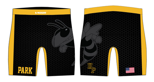 Hanover Park Youth Wrestling Sublimated Compression Shorts