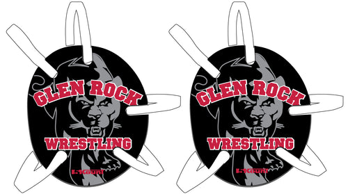 NEW Glen Rock Youth Wrestling Headgear with Decal