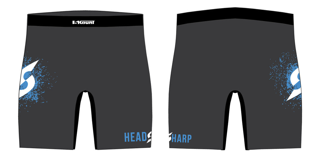 Headsharp Sublimated Compression Shorts - 5KounT
