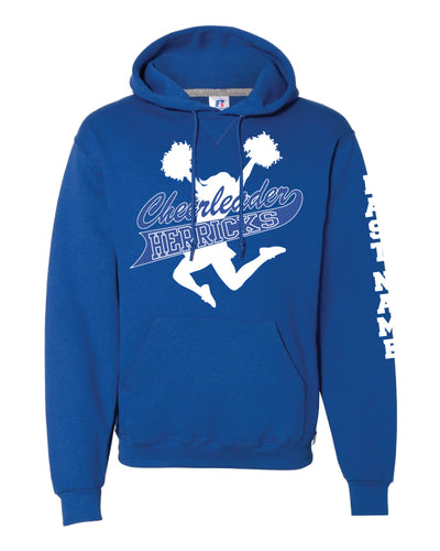 Herricks Cheer Russell Athletic Cotton Hoodie - Royal