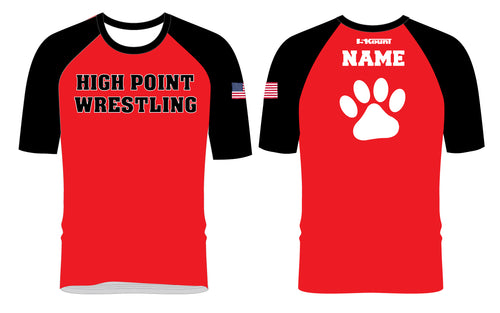 High Point HS wrestling Sublimated Fight Shirt
