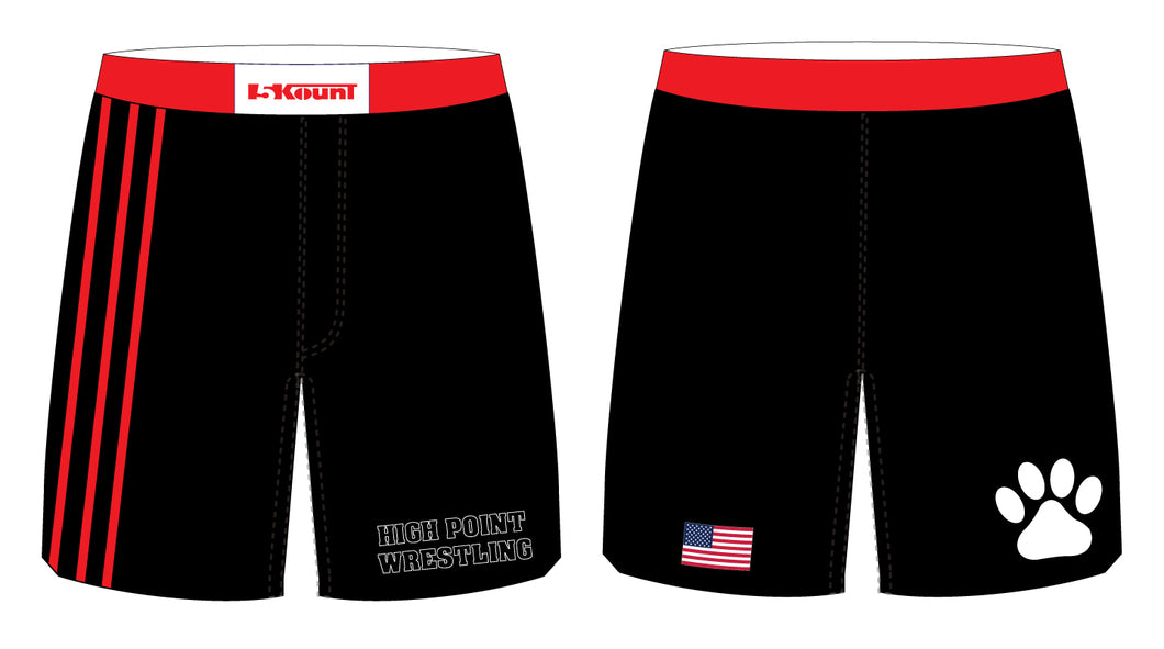 High Point HS wrestling Sublimated Fight Shorts - 5KounT2018